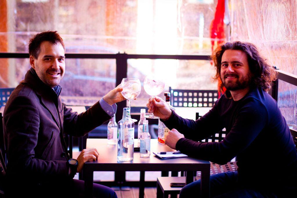 Un brindisi (a base di Gin & JGasco) con Roberto