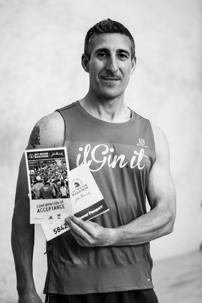 """Antonino """"Pino"""" Dattola, il nostro Giner alla maratona di Boston"""