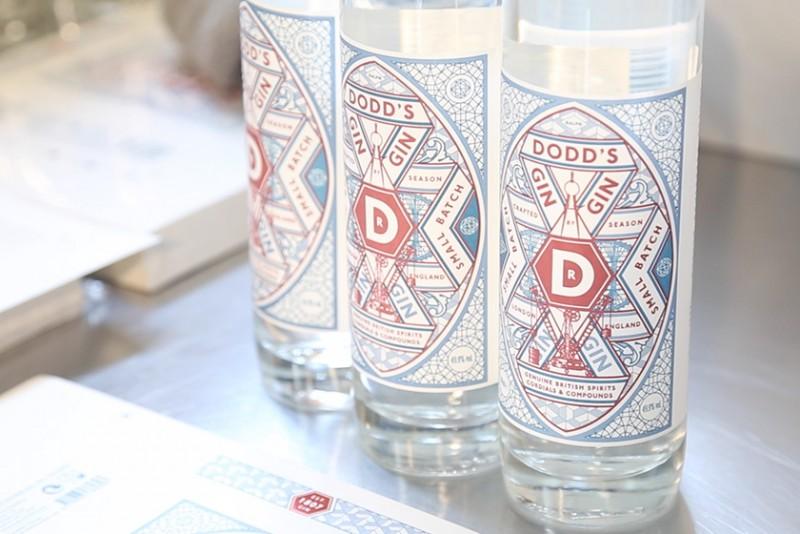 Dodd's gin in edizione limitata, invecchiato nei barili del whisky