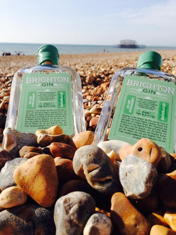 Il Brighton Gin, sulla spiaggia di Brighton