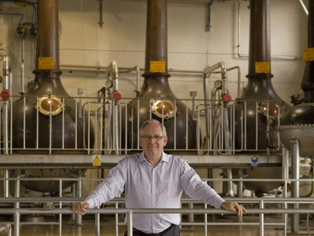 Desmond Payne, Master Distiller del Beefeater gin