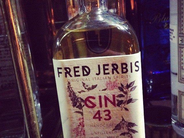 Fred Jerbis Gin, un nuovo gin tutto italiano dall'aromaticita' unica