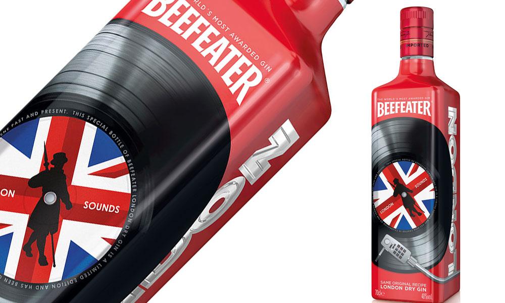 Beefeater Gin, la nuova bottiglia che celebra la musica