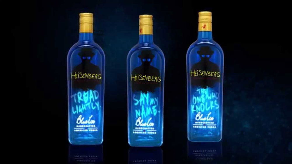 Blue Ice Vodka: la vodka che si ispira a Breaking Bad