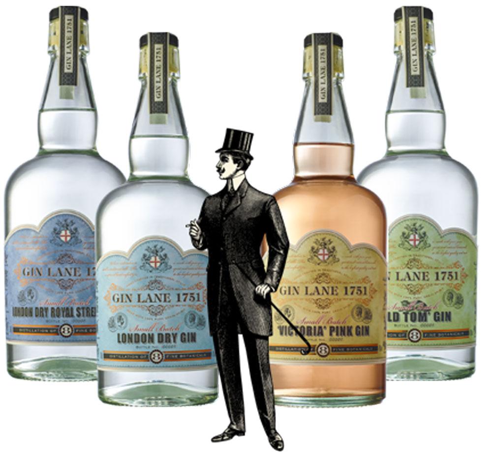 Gin Lane 1751: il nuovo gin di ispirazione vittoriana