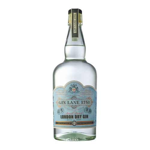 La bottiglia di Gin Lane 1751 London Dry Gin