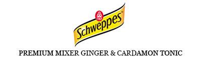 Schweppes Premium Mixer Ginger & Cardamon Tonic