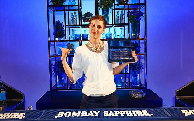 World's Most Imaginative Bartender Competition di Bombay Sapphire