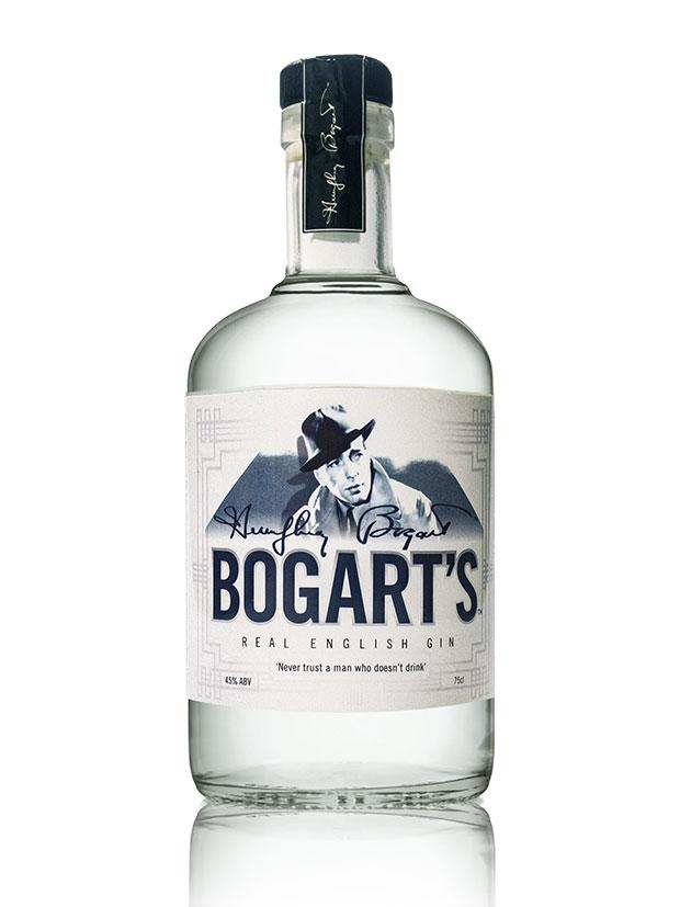Bogart's Real English Gin Bottiglia