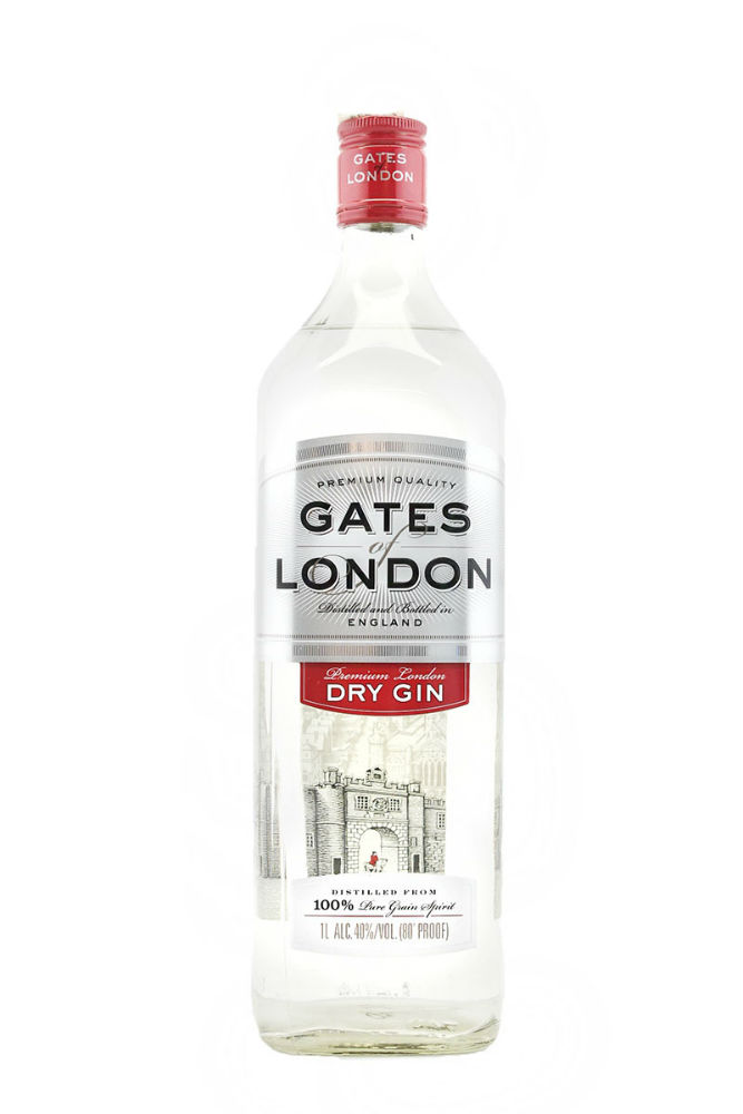 La bottiglia di Gates of London gin