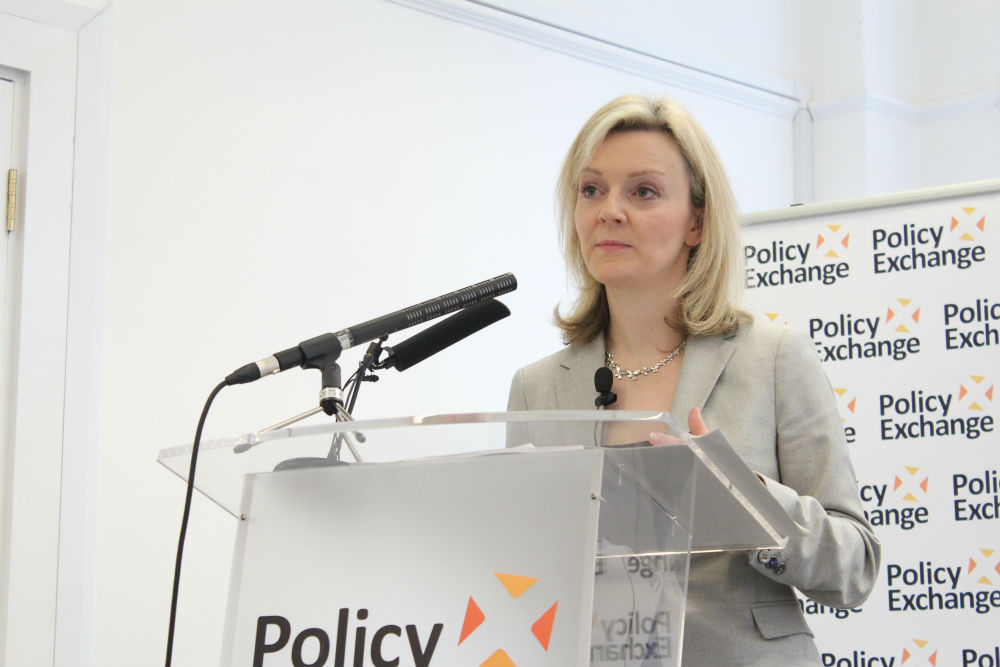 Elizabeth Truss, ministro dell'Ambiente UK
