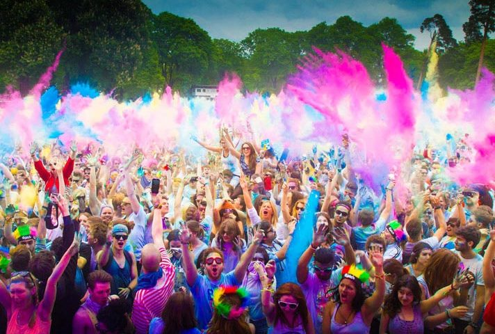 Opihr Gin sponsor International Holi Festival of Colours