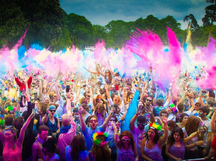 Opihr Gin sponsor International Holi Festival of Colours