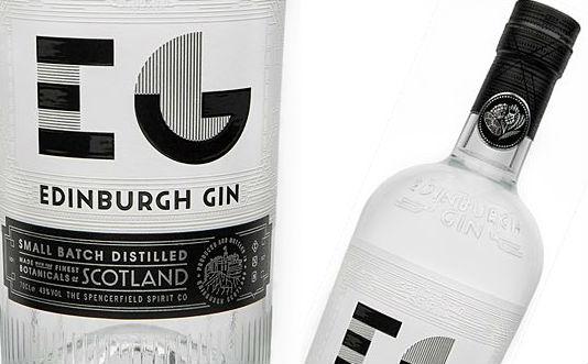 Qualche dettaglio della nuova bottiglia di Edinburgh Gin