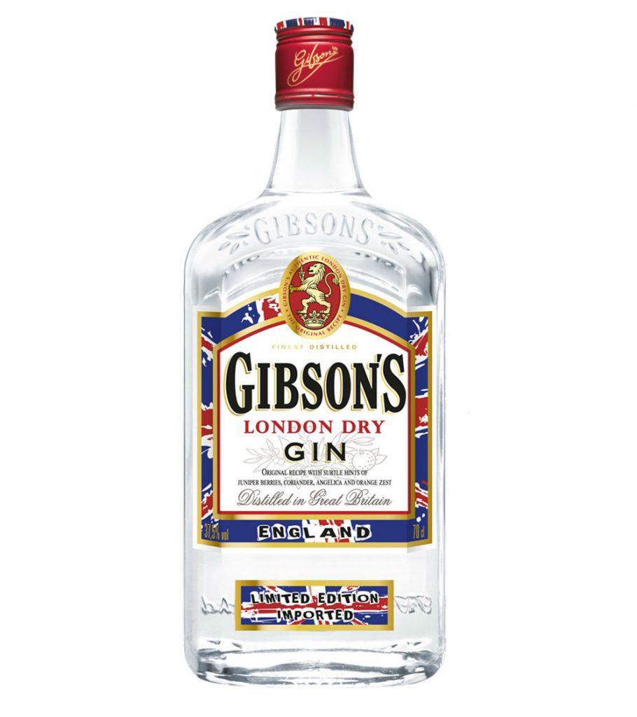 La bottiglia di Gibson's in versione punk rock