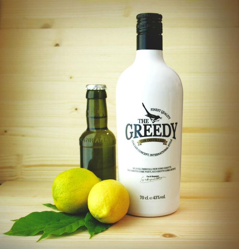 Greedy Gin, nonostante il nome è un gin 100% italiano