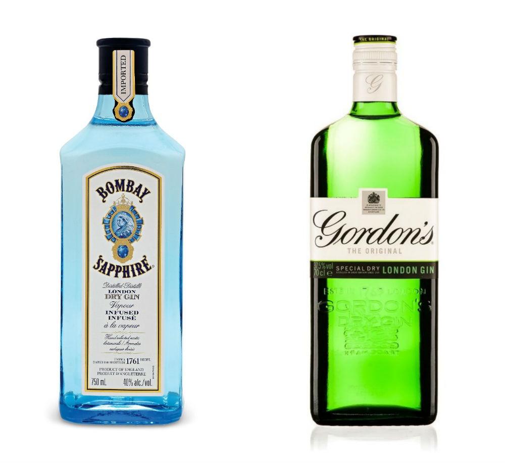 Bombay Sapphire e Gordon's Gin, i vincitori dell'estate britannica 2015