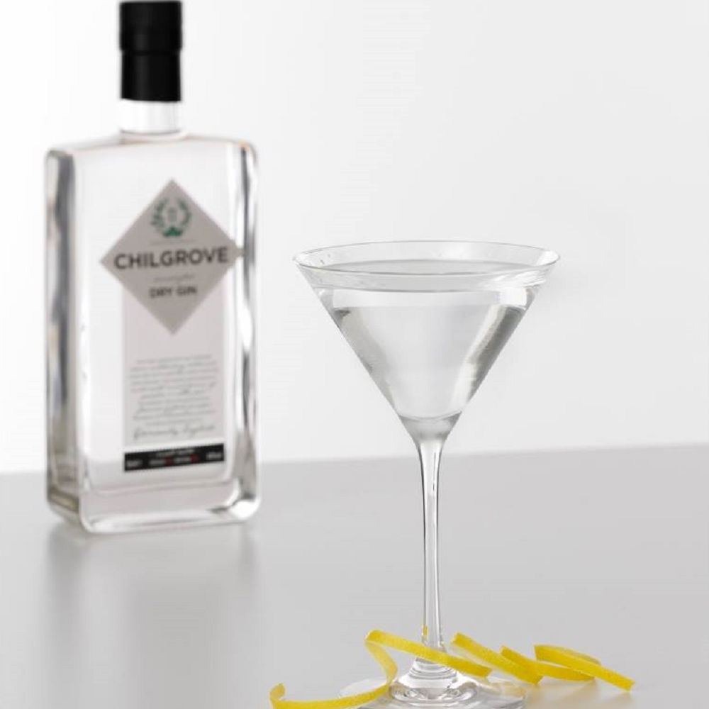 Un'immagine promozionale del Chilgrove Gin