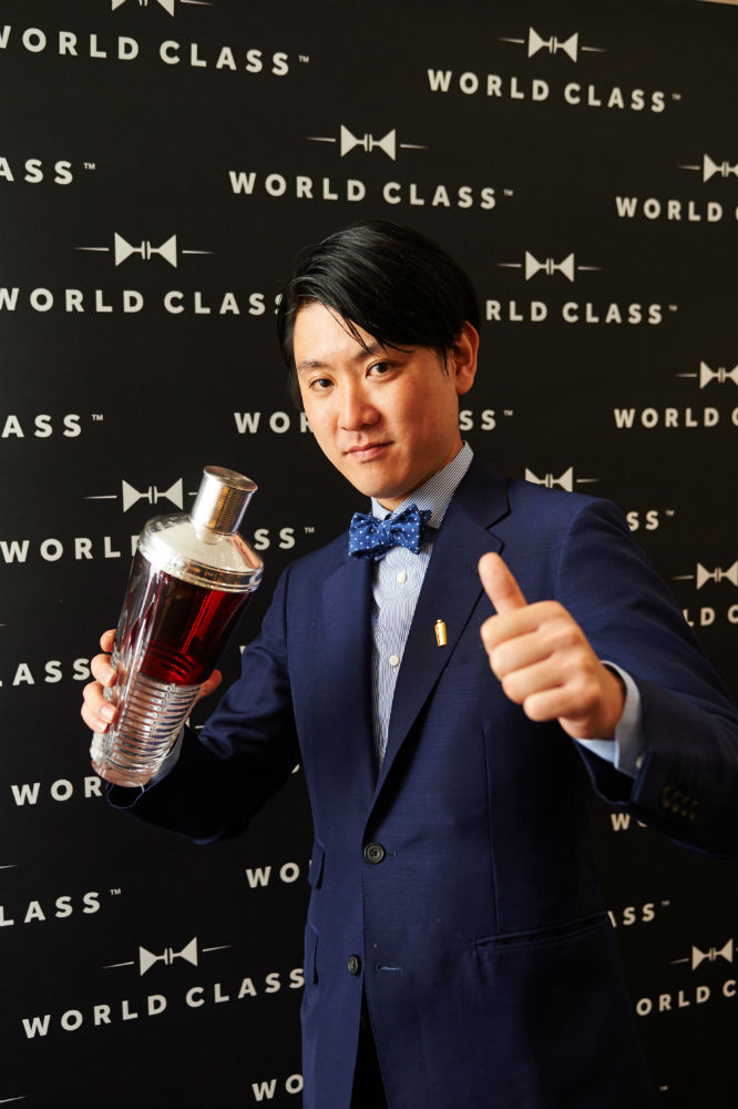 Michito Kaneko, vincitore del Diageo World Class 2015