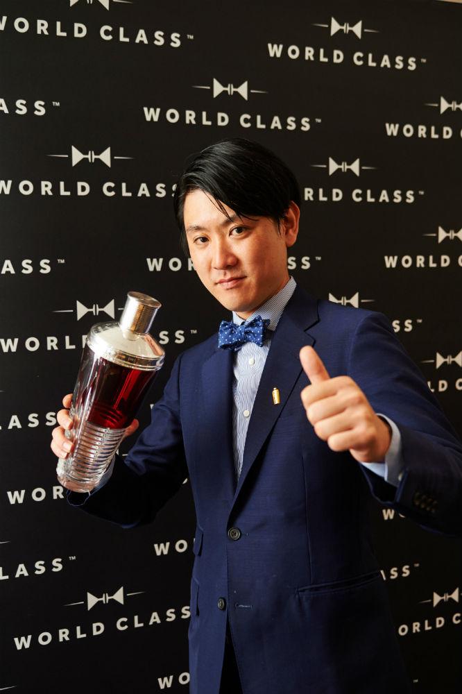 Michito Kaneko, vincitore del Diageo World Class 2015
