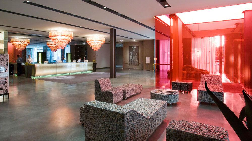 L'hotel Nhow, sede della finale mondiale del Martini Grand Prix