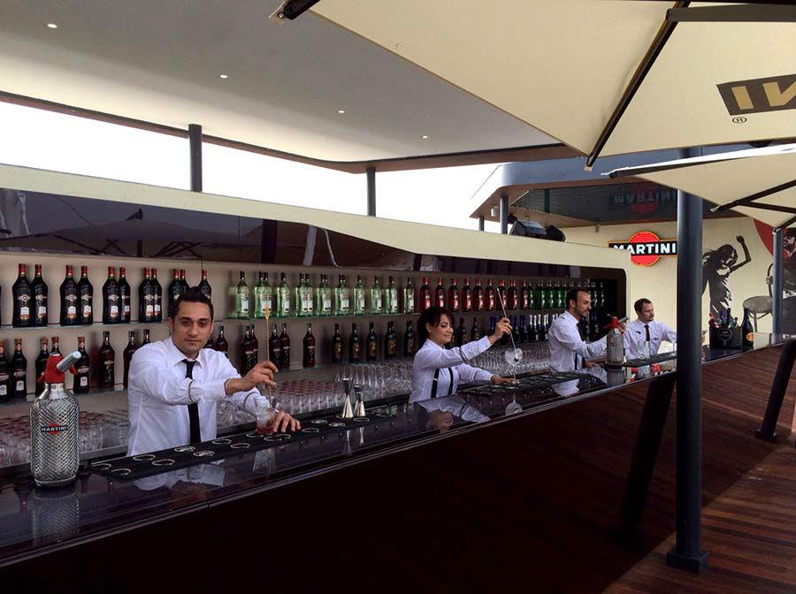 Terrazza Martini all'Expo, luogo di lavoro di Patrizia Bevilacqua