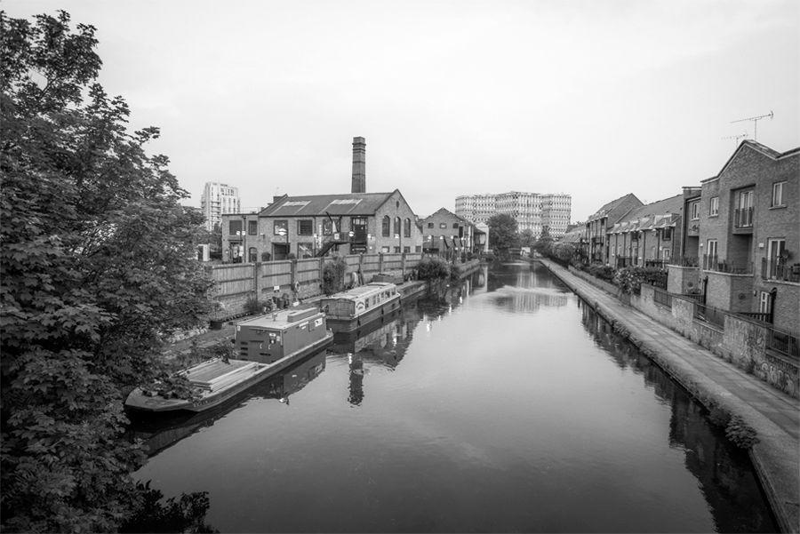 Una vista dalla distilleria dell'East London Liquor Company