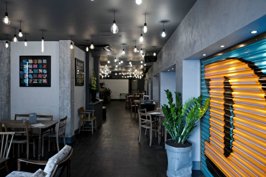 L'interno dello stiloso Graphic Bar