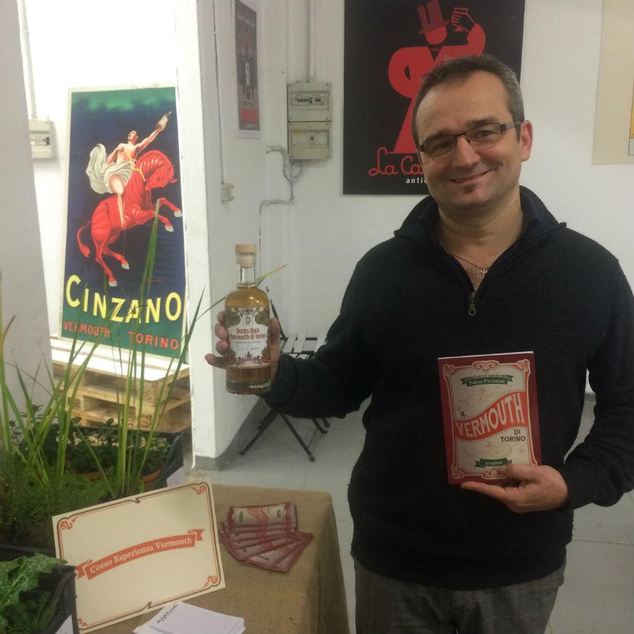 Fulvio Piccinino, organizzatore dell'Esperienza Vermouth