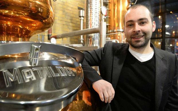 Darren Rook, CEO e co-fondatore di The London Distillery Company