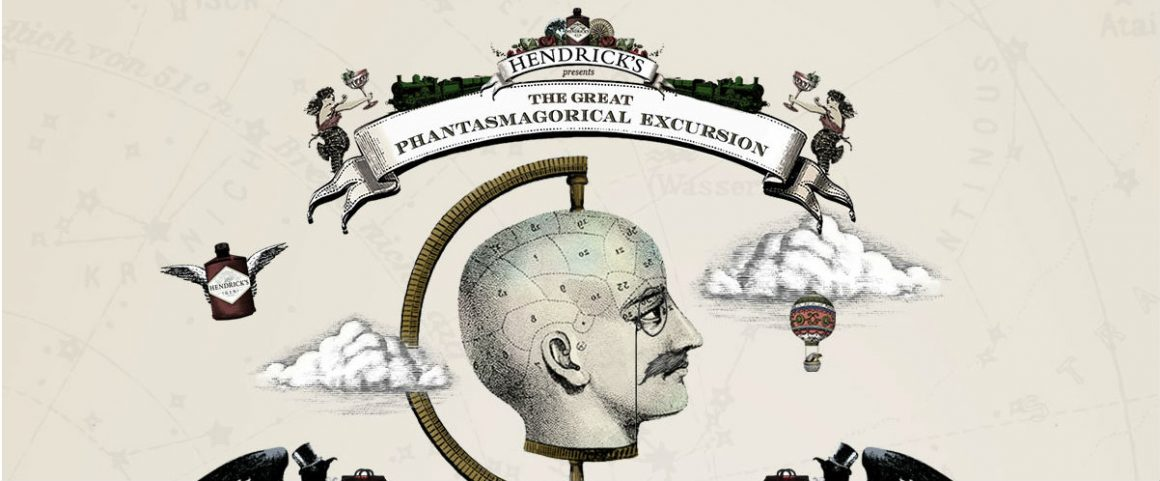 Hendrick's gin, il digitale ed E.A. Poe: The Great Phantasmagorical Excursion
