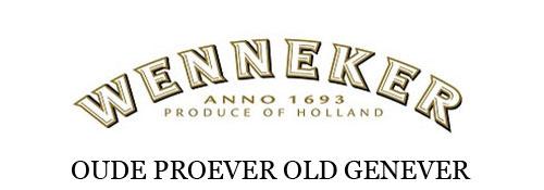Wenneker Oude Proever Old Genever