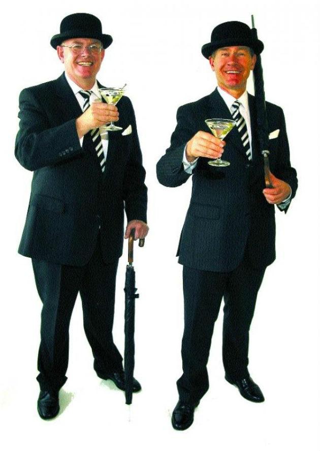 Martin e Andy Dawson, fondatori del Broker's Gin