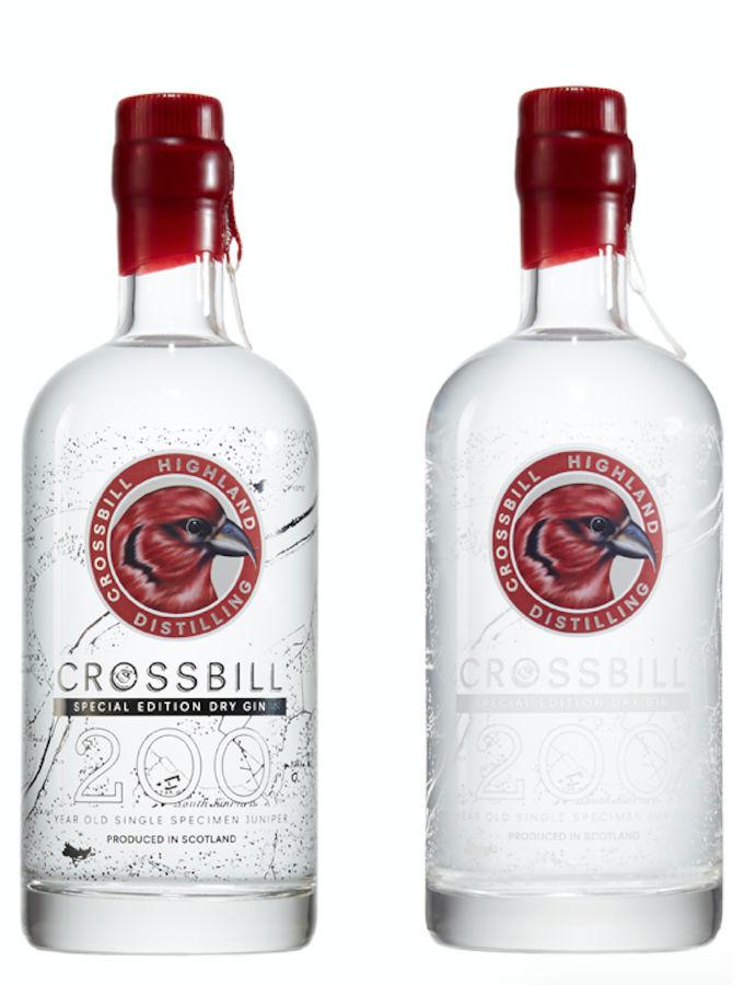 La bottiglia di Crossbill 200 Edizione Speciale