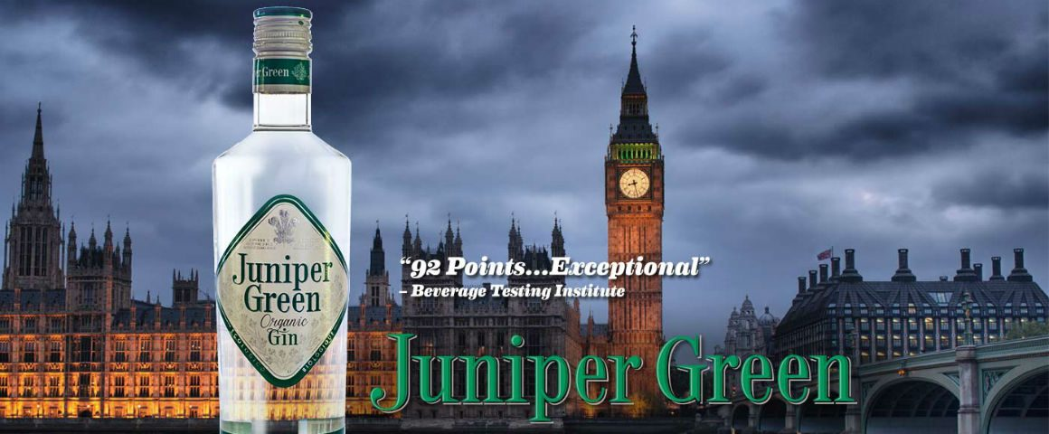 I gin del Gin Day: Juniper Green Organic Gin, organico certificato!