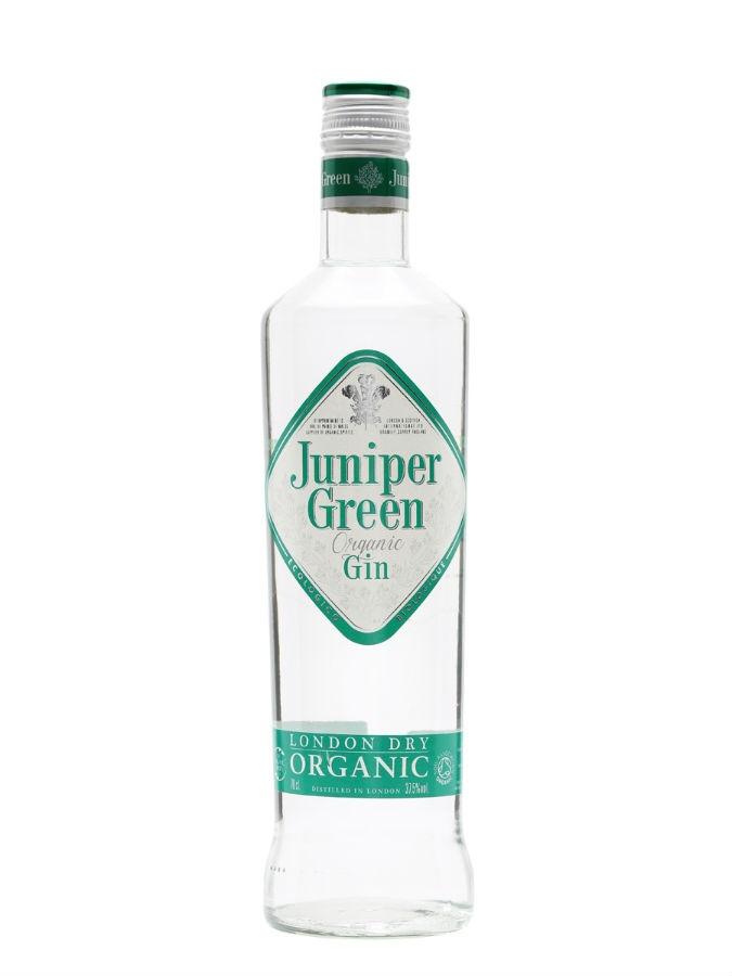 La bottiglia di Juniper Green Organic Gin