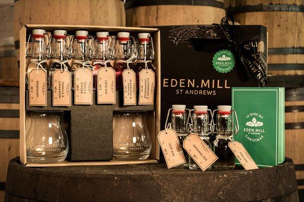 Merry Ginmas con i 12 gin di Natale di Eden Mill
