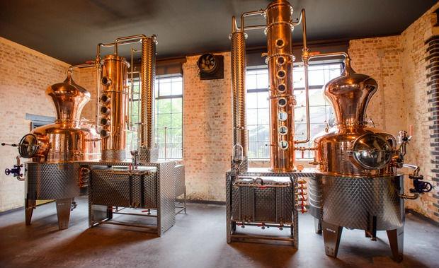 L'interno della East London Liquor Company