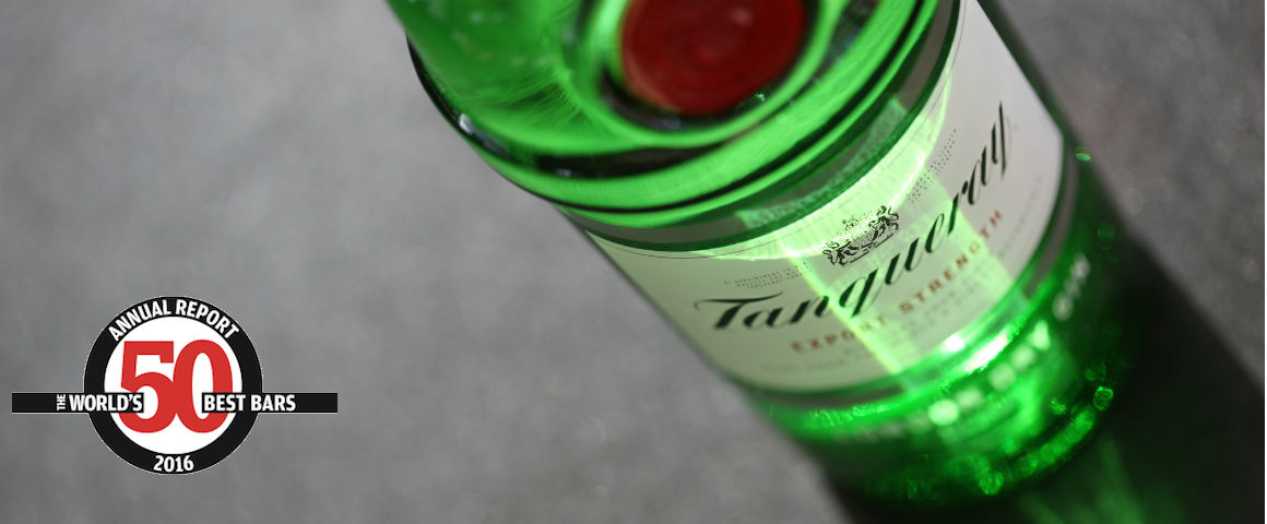 World's Best Bars 2016: Tanqueray gin domina la categoria