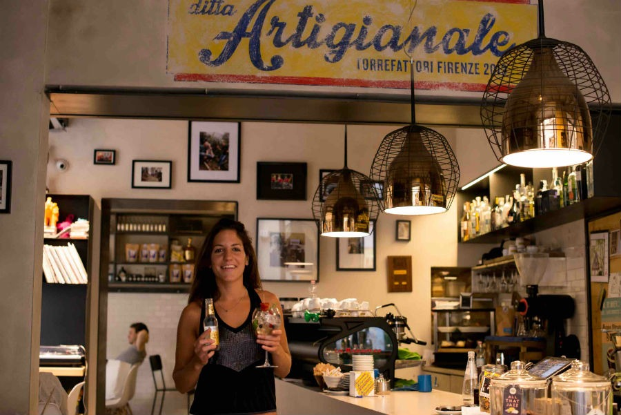 Cecilia Cancellieri, barmaid di Ditta Artigianale