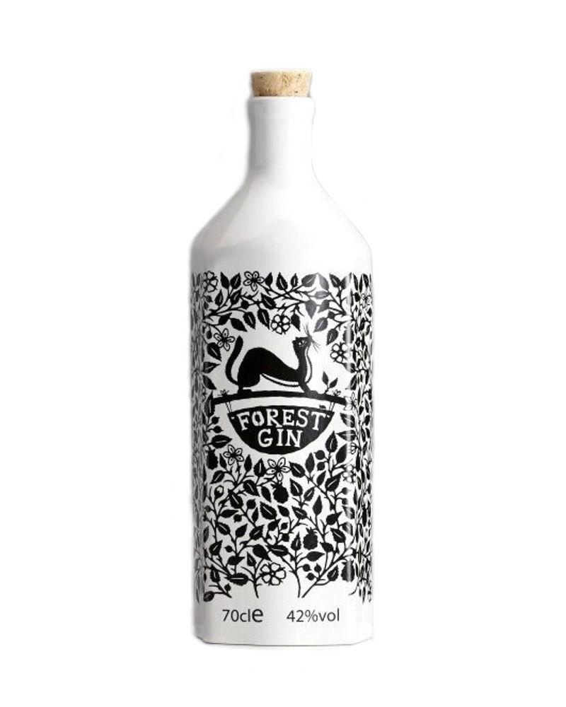 La nuova bottiglia in porcellana di Forest Gin