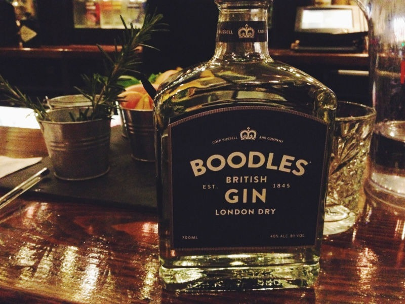 Per il Gin Tonic secco classico niente di meglio di un Boodles