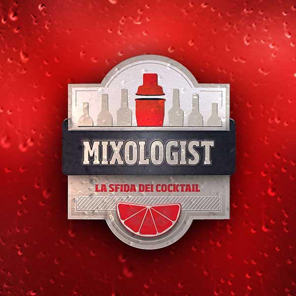 Il logo di Mixologist, competizione in TV che ha visto trionfare Marianna Di Leo