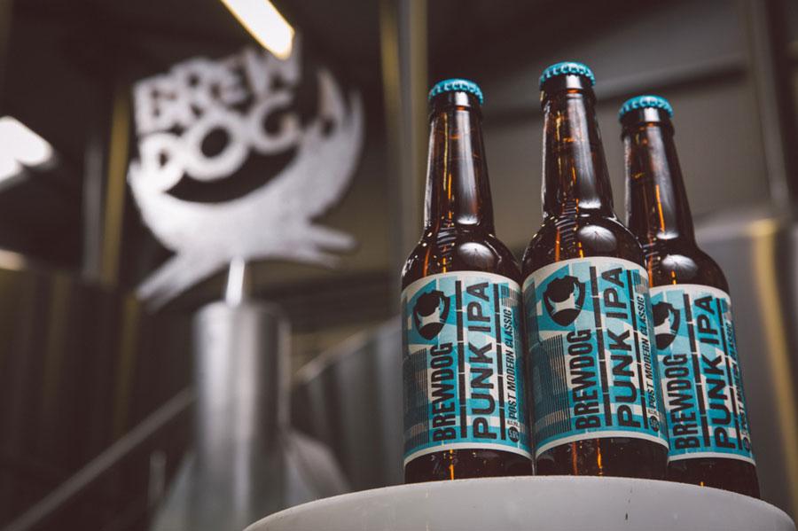 La Punk IPA, una delle birre più famose prodotte da Brewdog