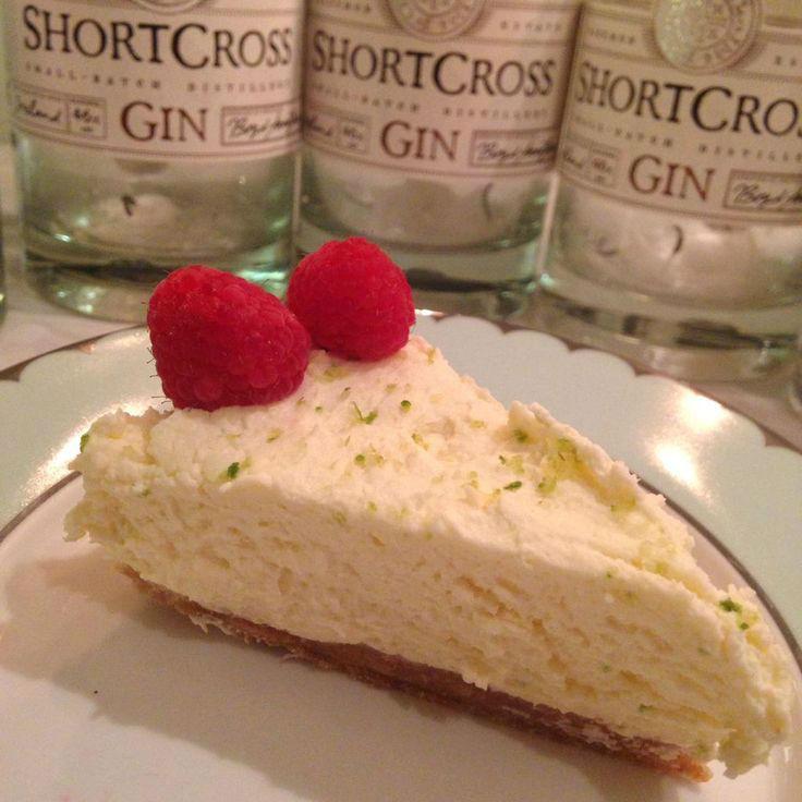 Il risultato finale della Cheesecake al Gin, provata dallo staff di Shortcross Gin