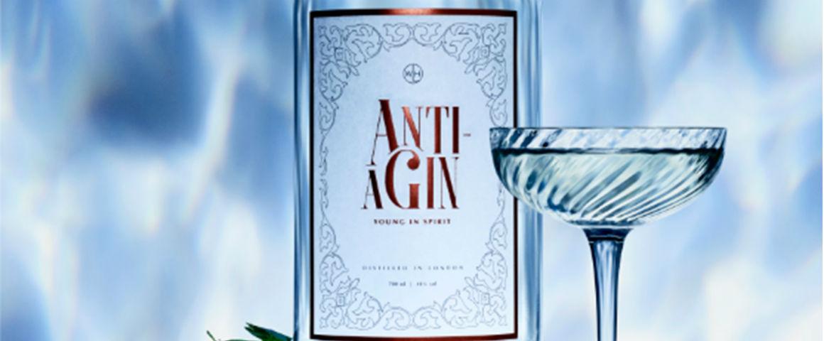 Anti-Agin, il gin che ti ringiovanisce, meglio di un lifting!