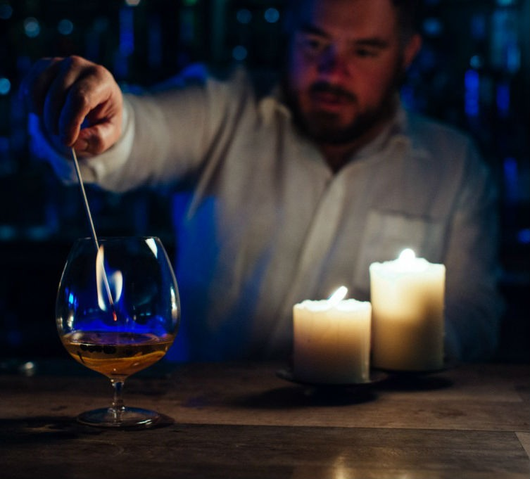 Il cocktail Winter is Coming realizzato da Portobello Road Gin