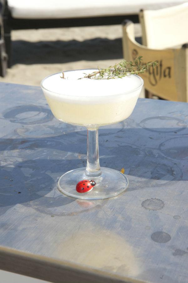 Uno dei cocktail preparati da Andrea Zapis