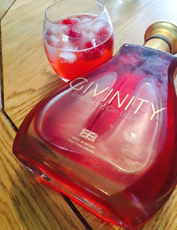 Givinity Raspberry Gin Liqueur