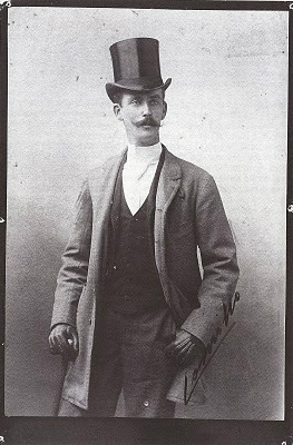 Il Conte Camillo Negroni in un'immagine d'epoca